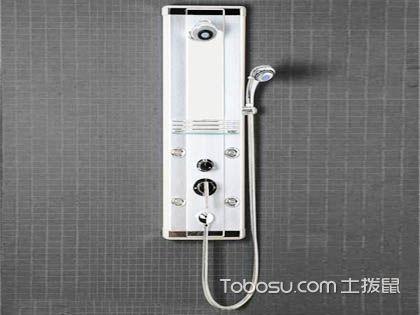 淋浴器安装 孔距不是小问题
