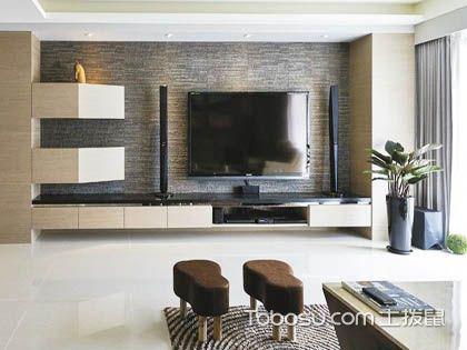 现代简约风格电视墙设计:功能至上的形式美