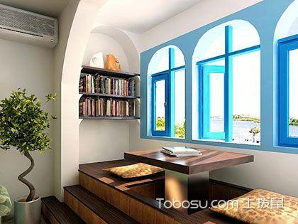 客厅阳台榻榻米设计,功能齐全的室内闲适场所
