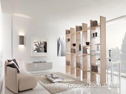 客厅间隔柜设计要点 学习环保实用的省钱装修