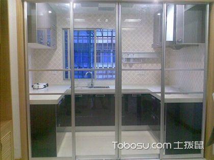 厨房移门效果图 通透又封闭的烹饪空间