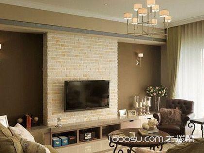 简约美式电视背景墙 强调功能设计性