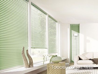 分享!铝百叶帘的5大特点和2种安装方法
