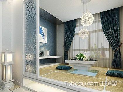 客厅榻榻米设计,休闲收纳一物搞定