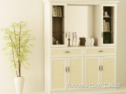 客厅玄关柜怎么设计更省钱?普通材料打造特殊效果