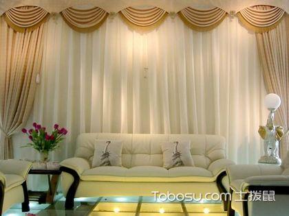 电动布艺开合窗帘 更加具有特色的家居装饰