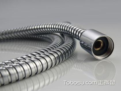 花洒软管安装 尺寸相同连接简单