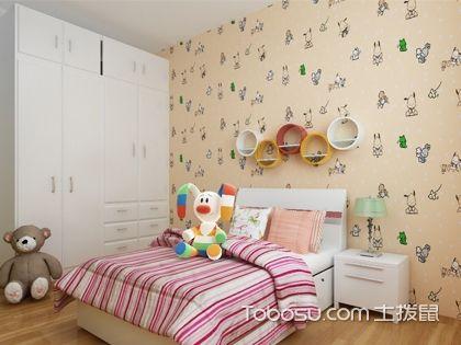 儿童房壁纸选购 打造绿色健康成长环境