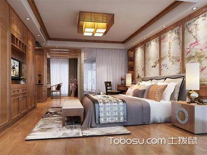 中式装修卧室,传统韵味和现代审美的碰撞