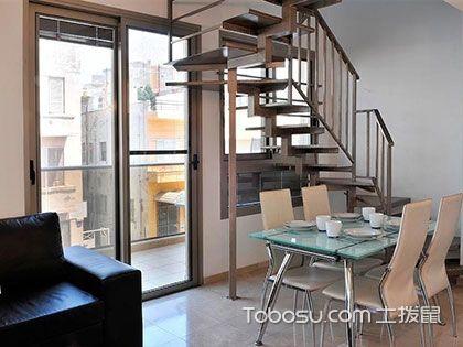 跃层式装修,客厅、楼梯是重中之重
