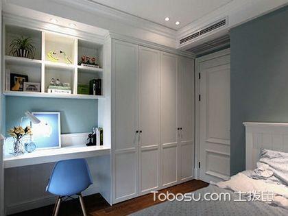儿童衣柜书桌一体 选一款合适的家具