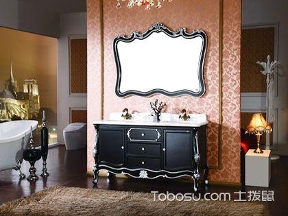 古典浴室柜参考:中西比拼 你会选哪个?