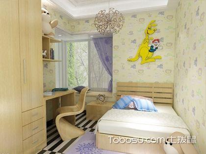 儿童房贴壁纸好吗 选用环保材质不用担心