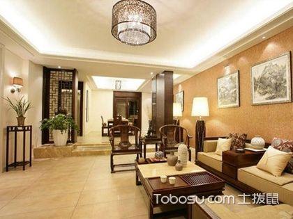 中式混搭客厅装修效果图 惊艳的传统之美