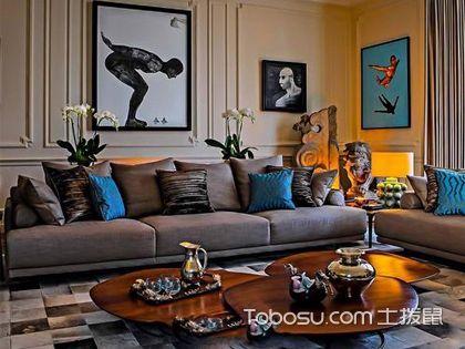 混搭风格客厅 应接不暇的视觉盛宴
