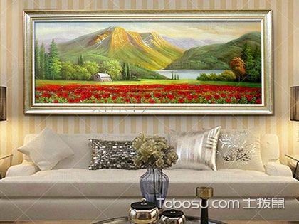 家居装饰画风水,藏于画中的家宅平安