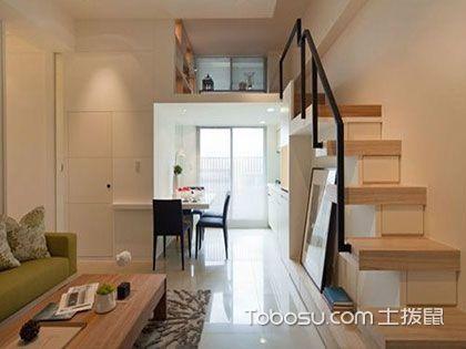 小户型跃层装修,楼梯安全是重中之重