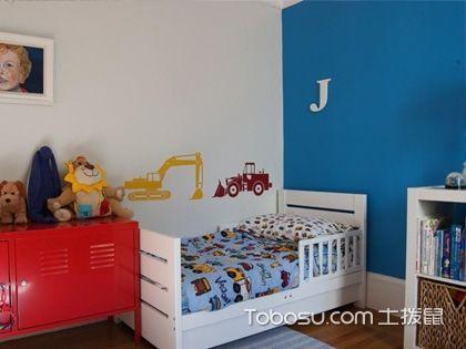 儿童房壁纸效果图 充满爱的成长空间
