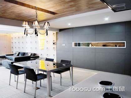 餐厅墙面装修效果图 看色彩与造型如何协调