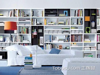 墙面创意书架,让白墙告别单调