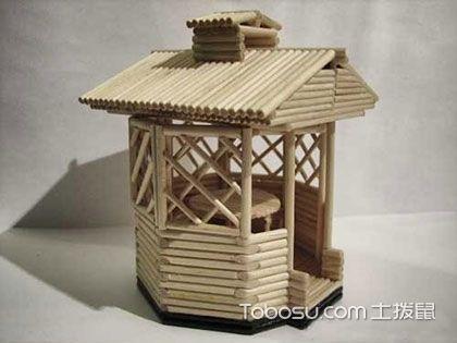 筷子工艺品制作,简单手工就可变废为宝
