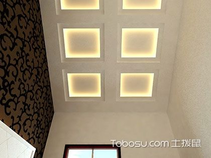 装好吊顶、石膏线,为居室整体美观添彩