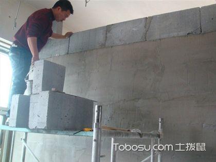 砌砖隔墙验收要注意 多处检测才能下结论