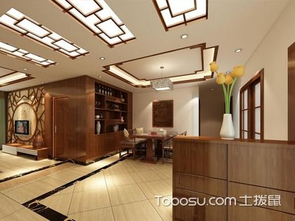 餐厅吊顶设计效果图 感受不同的用餐氛围