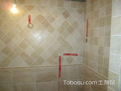 内墙面贴砖验收 给居住空间一个好门面