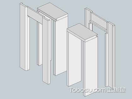门的配件之门套,多层实木板质量更可靠