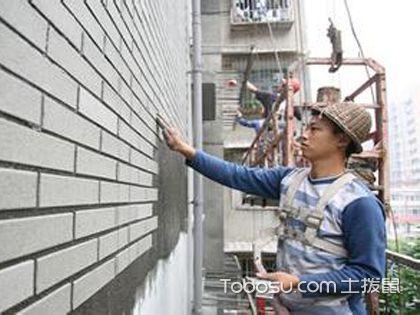 外墙贴砖 同样起到保护墙面作用