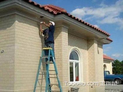 外墙贴砖监工 当一个合格的业主