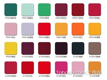 铝塑板颜色有哪些?常规色都有30余种