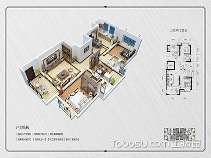 房屋户型、面积及使用性质,决定装修风格的标准