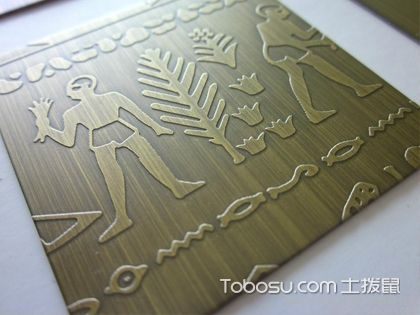 铝合金装饰板验收  整体效果要平整顺畅