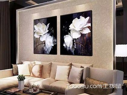 客厅墙面装饰画怎么选?空间搭配有技巧