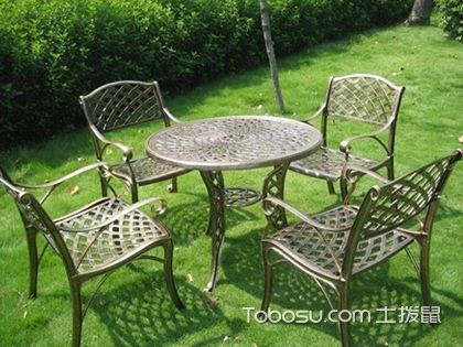 庭院桌椅怎么选,以材质来区分适合家具