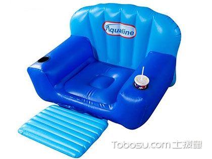 充气儿童沙发,代替座椅、澡盆的便携式家具