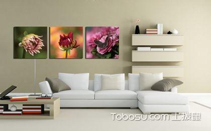 客厅沙发背景画 巧妙搭配无可挑剔