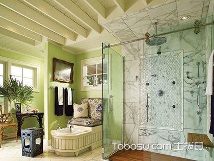 这样做的卫生间玻璃隔断,美观又耐用
