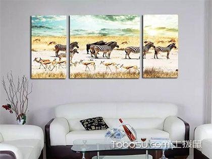 客厅背景墙画 不一样的视觉冲击