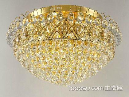 水晶灯的养护要点