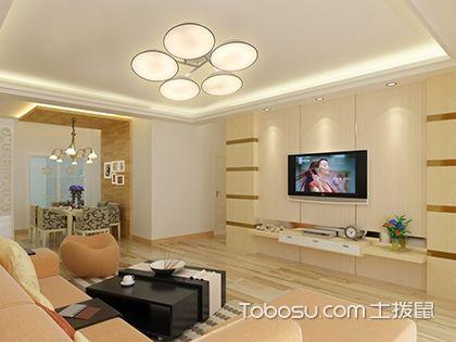 客厅装什么灯好看又实用?与户型大小有关
