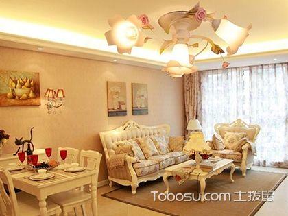 客厅欧式灯:有一种美,叫奢华的清丽脱俗