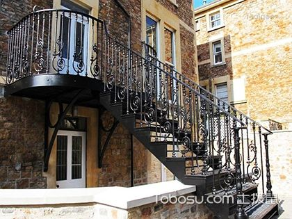 室外楼梯尺寸,高度、宽度皆有最舒适规格