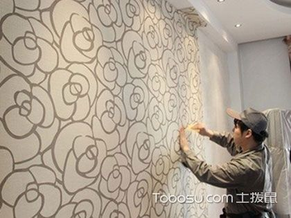 """贴墙纸用什么胶水最好?防止墙后有""""埋伏"""""""