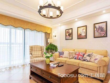 130平米美式乡村风格装修,溢出来的温馨舒适感