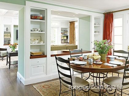 客厅餐厅隔断柜设计案例,为家居美貌加分