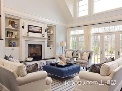 客厅风水与方位、颜色的选择