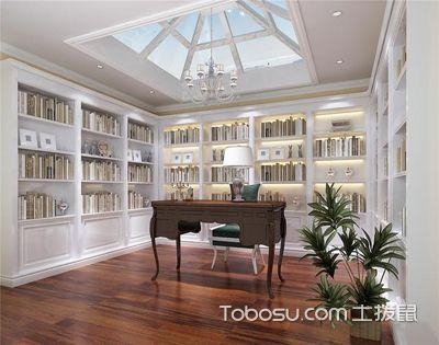 书房照明设计要点,无色、柔和、实用为主